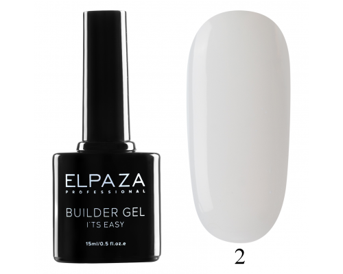 Моделирующий гель Builder Gel it's easy Elpaza 02