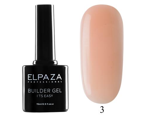Моделирующий гель Builder Gel it's easy Elpaza 03