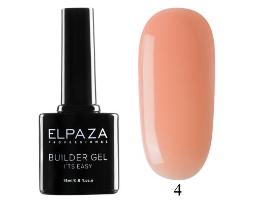 Моделирующий гель Builder Gel it's easy Elpaza 04