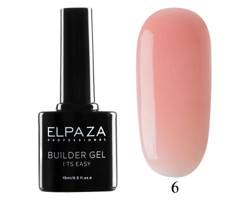 Моделирующий гель Builder Gel it's easy Elpaza 06