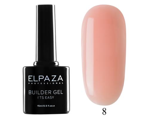 Моделирующий гель Builder Gel it's easy Elpaza 08