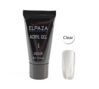 Acryl Gel №1 Elpaza Clear 30 мл
