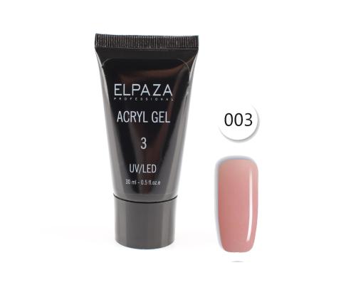 Acryl Gel №3 Elpaza 30 мл