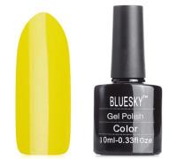 Гель-лак (шеллак) Bluesky Shellac Neon N03 Желтый