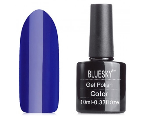 Гель-лак Bluesky Shellac Neon N24 (Индиго, темно-синий)