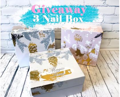Новогодний конкурс! 3 Nail Box!
