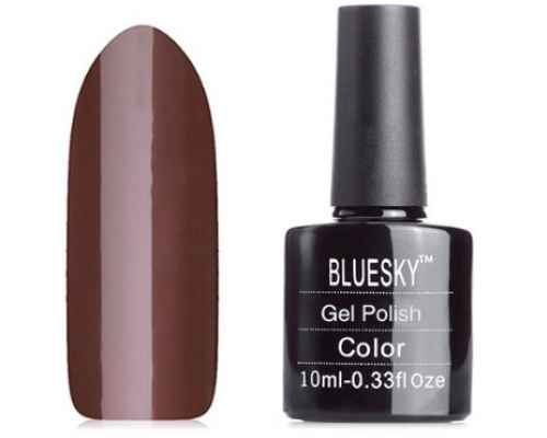 Гель-лак Bluesky Shellac A07 (Темно-коричневый)