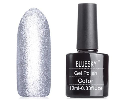 Гель-лак Bluesky Shellac A18 (Серебряный)