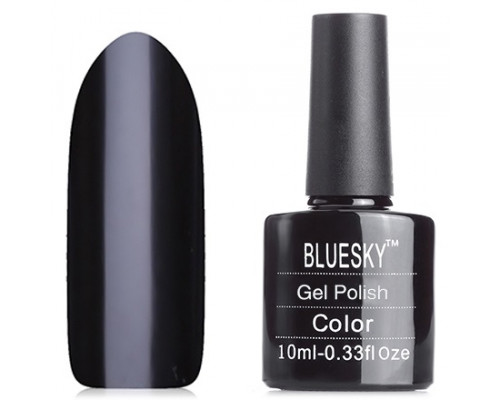 Гель-лак Bluesky Shellac A21 (Черный)