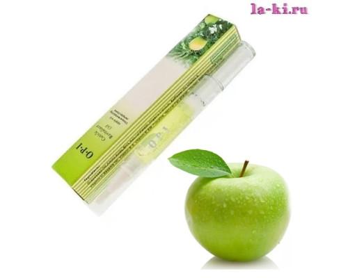 Масло для кутикулы OPI/MDS Cuticle Revitalizer Oil карандаш с кисточкой 5 мл (Яблоко)