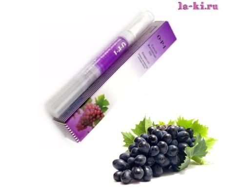 Масло для кутикулы OPI/MDS Cuticle Revitalizer Oil карандаш с кисточкой 5 мл (Виноград)