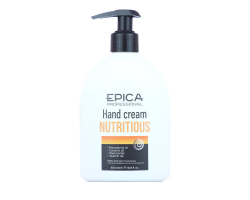 Крем для рук Nutritious Epica питательный 400 мл
